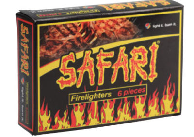 Safari Firelighters 6pc